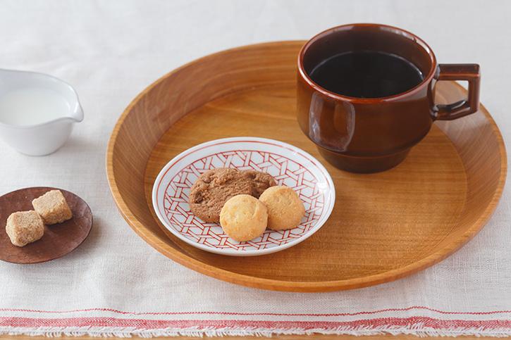 和食器・小皿|赤の和柄にほっこり