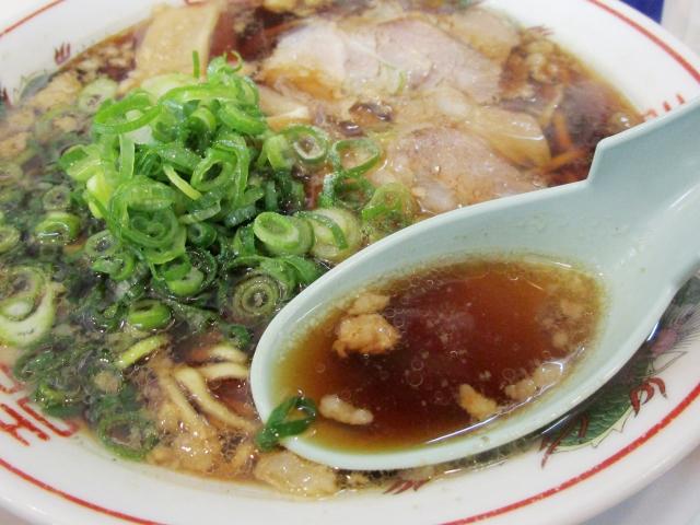 尾道ラーメンのスープ