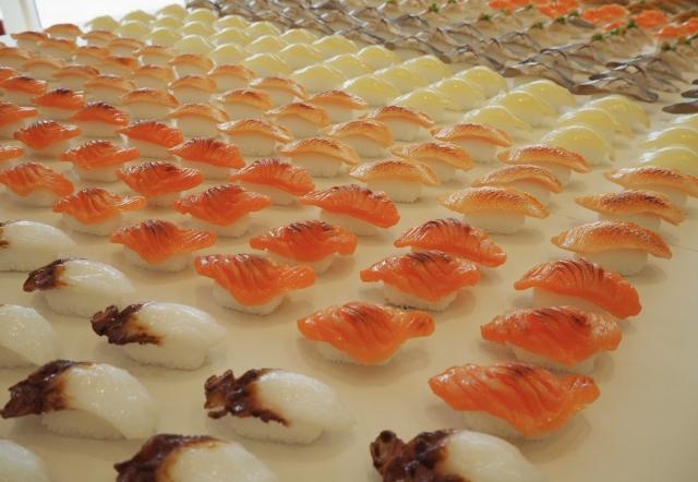 食品サンプルお寿司