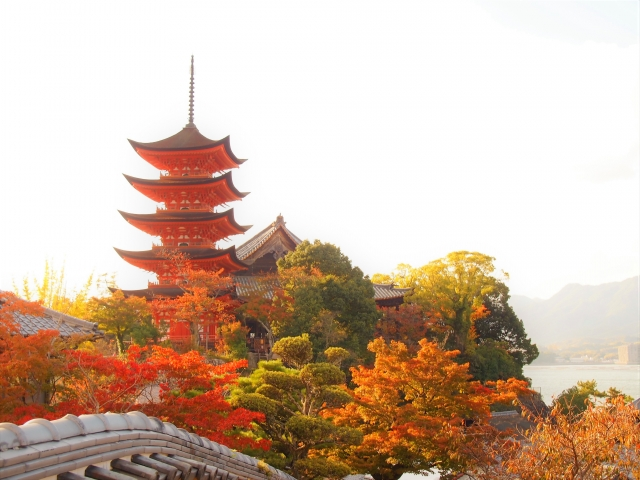 広島の五重塔