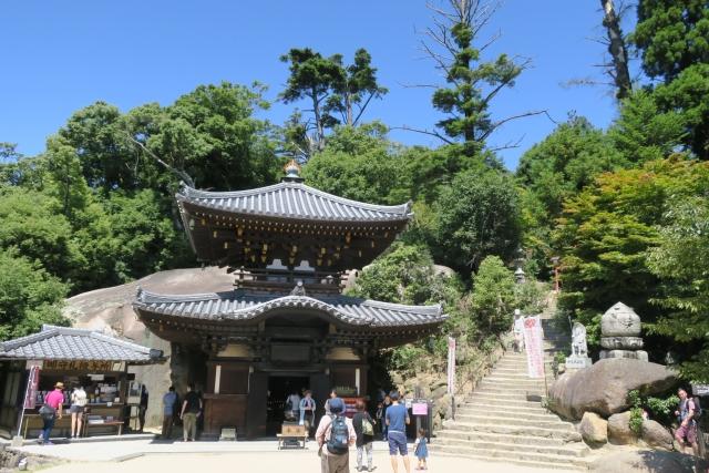 宮島の最高峰である弥山