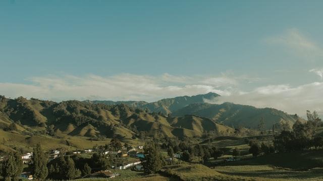 中南米の山地