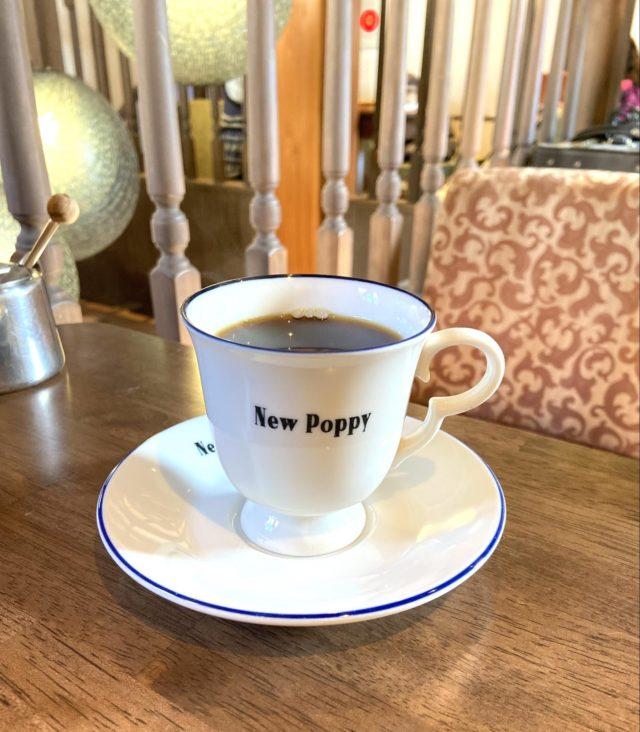 喫茶ニューポピーのコーヒー