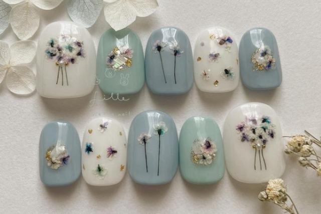 レトロファッションをもっと楽しく!春らしい「fillenail」のネイルチップで指先の衣替え