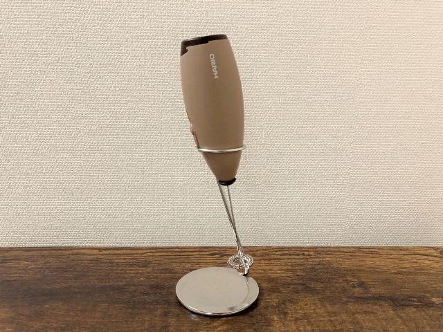 ミルククリーマーを利用したカフェオレ