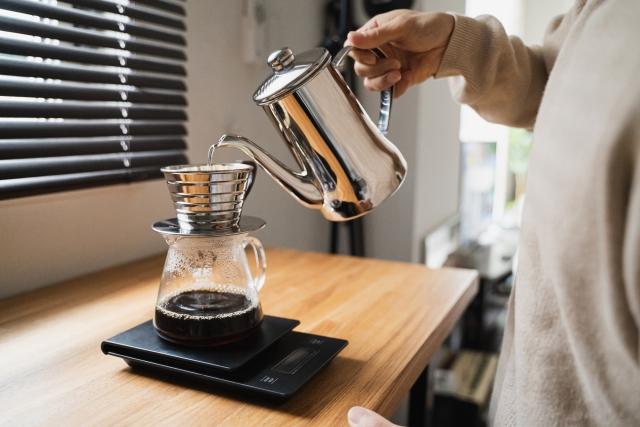コーヒーには軟水