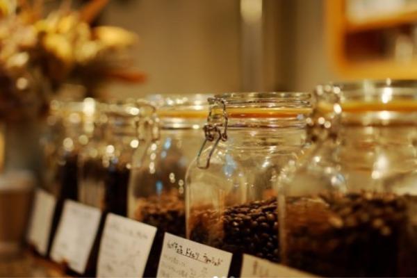 こだわりのコーヒー豆