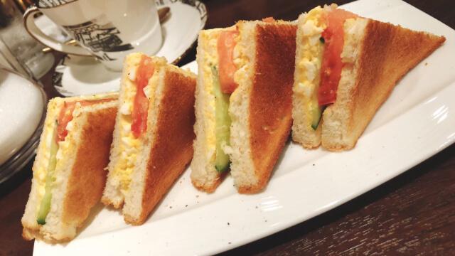 おすすめの卵サンド