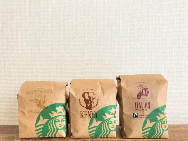 用意したコーヒー豆
