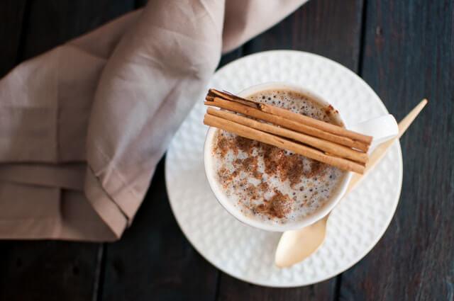 スパイス入りコーヒー