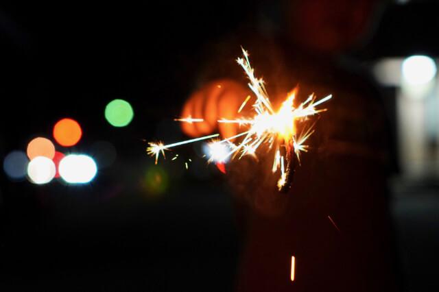 花火をスマホで上手に撮る