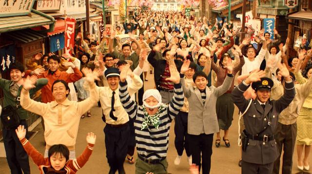昭和風のエンタメショー