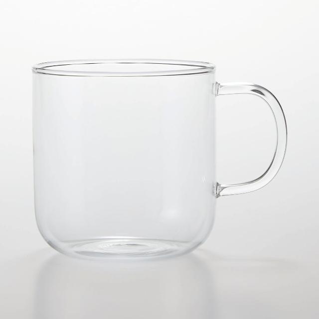 無印良品耐熱ガラスマグカップ