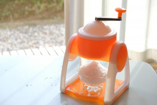 かき氷器・アイスクリームメーカーのおすすめ紹介!手動や自動タイプも
