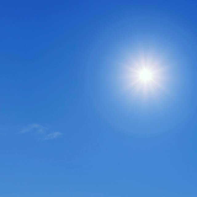 室内の紫外線