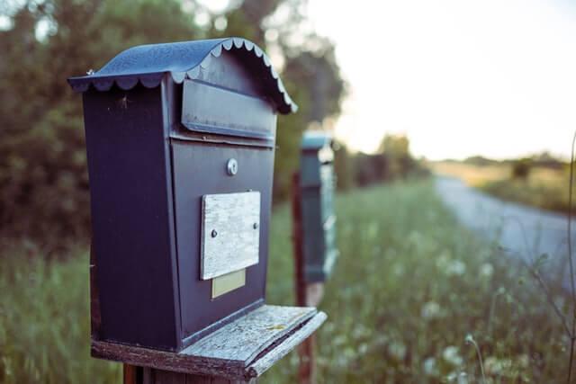 手紙を送るシーンは?