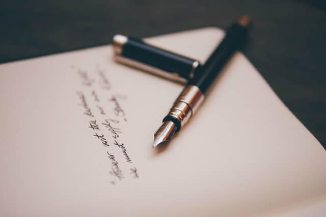 手紙を書くメリットとは